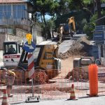 Προχωρούν οι εργασίες αποχέτευσης ομβρίων στη Χαλκίδα